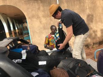 Arrivée à Ouaga